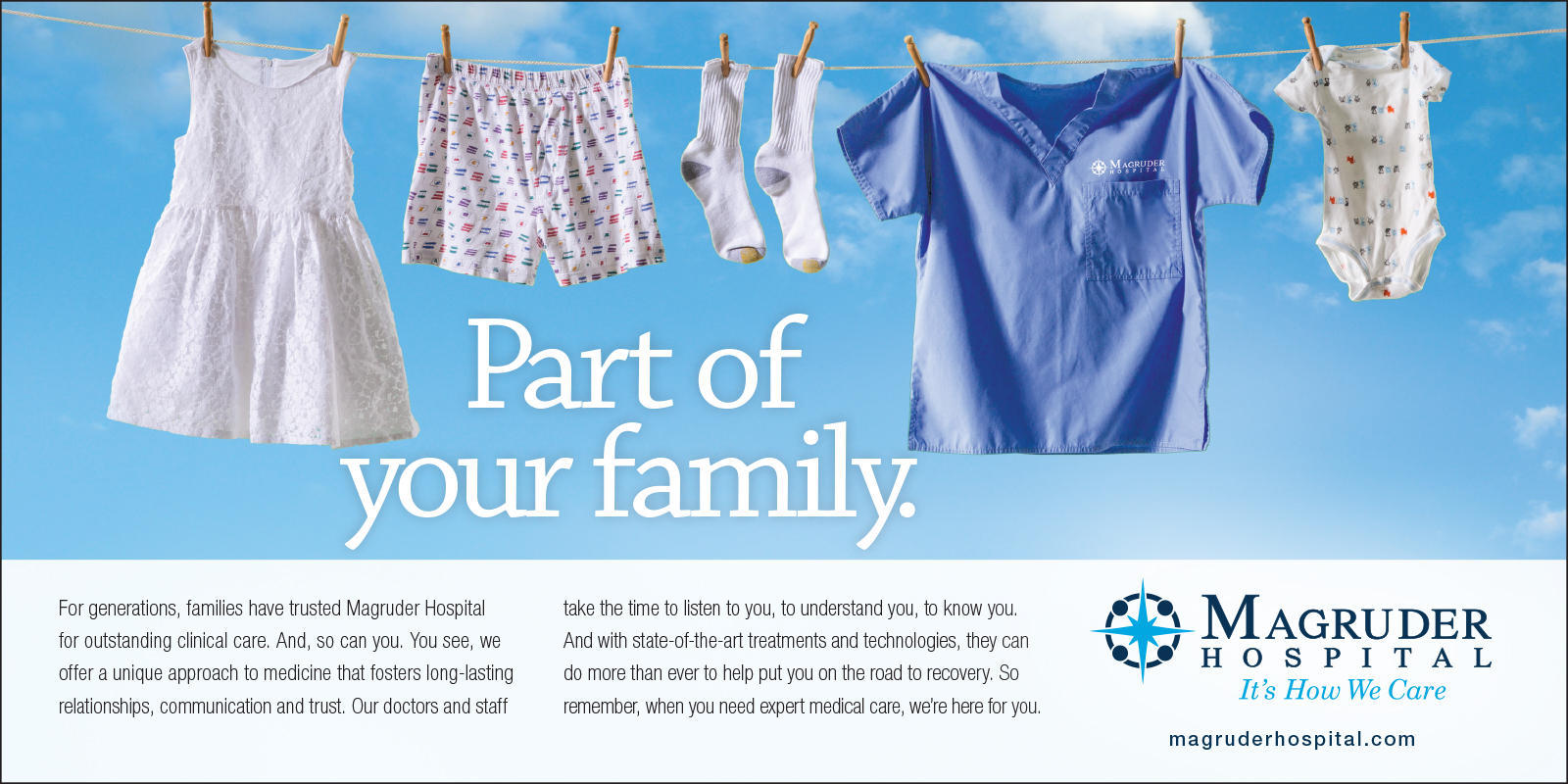 Clothesline Ad